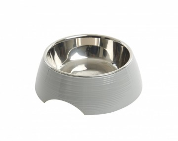 BUSTER Ripple Bowl, Shiny Grey, M